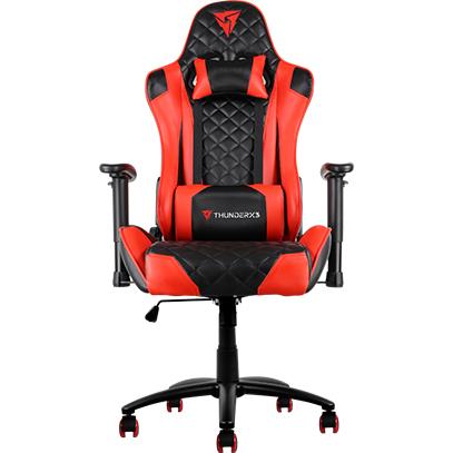 Ghế Chơi Game AeroCool ThunderX3 Black-Red