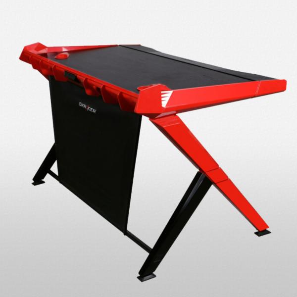 bàn chơi game dxracer đỏ (1)